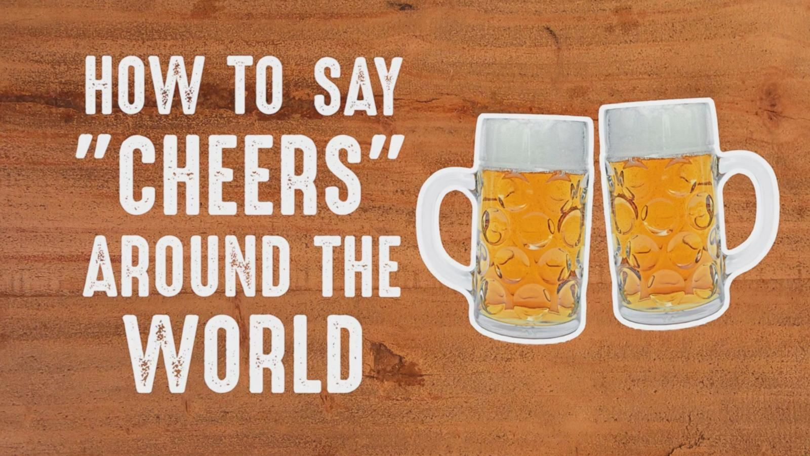How Do You Say Good Morning In French Creole : How to say cheers around the world abc news