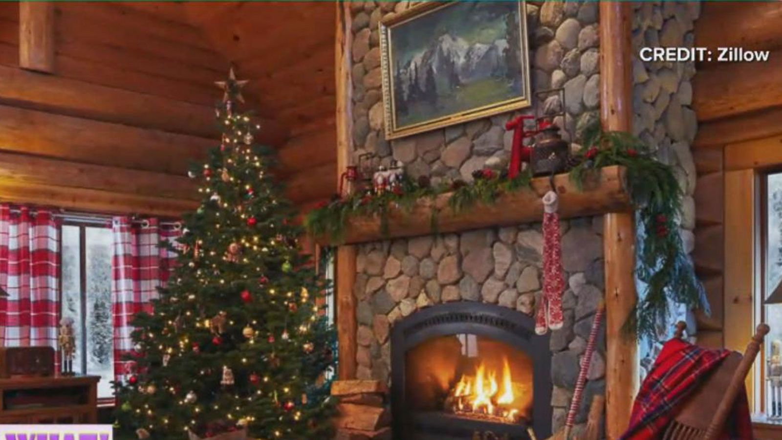 VIDEO: Santa's House Listed for $657K in the North Pole