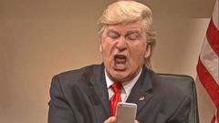VIDEO: Donald Trump, Alec Baldwin Tweet Over Continuing SNL Skits
