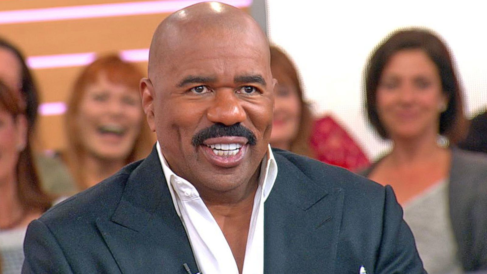 VIDEO: Steve Harvey Talks New Book Live on 'GMA'