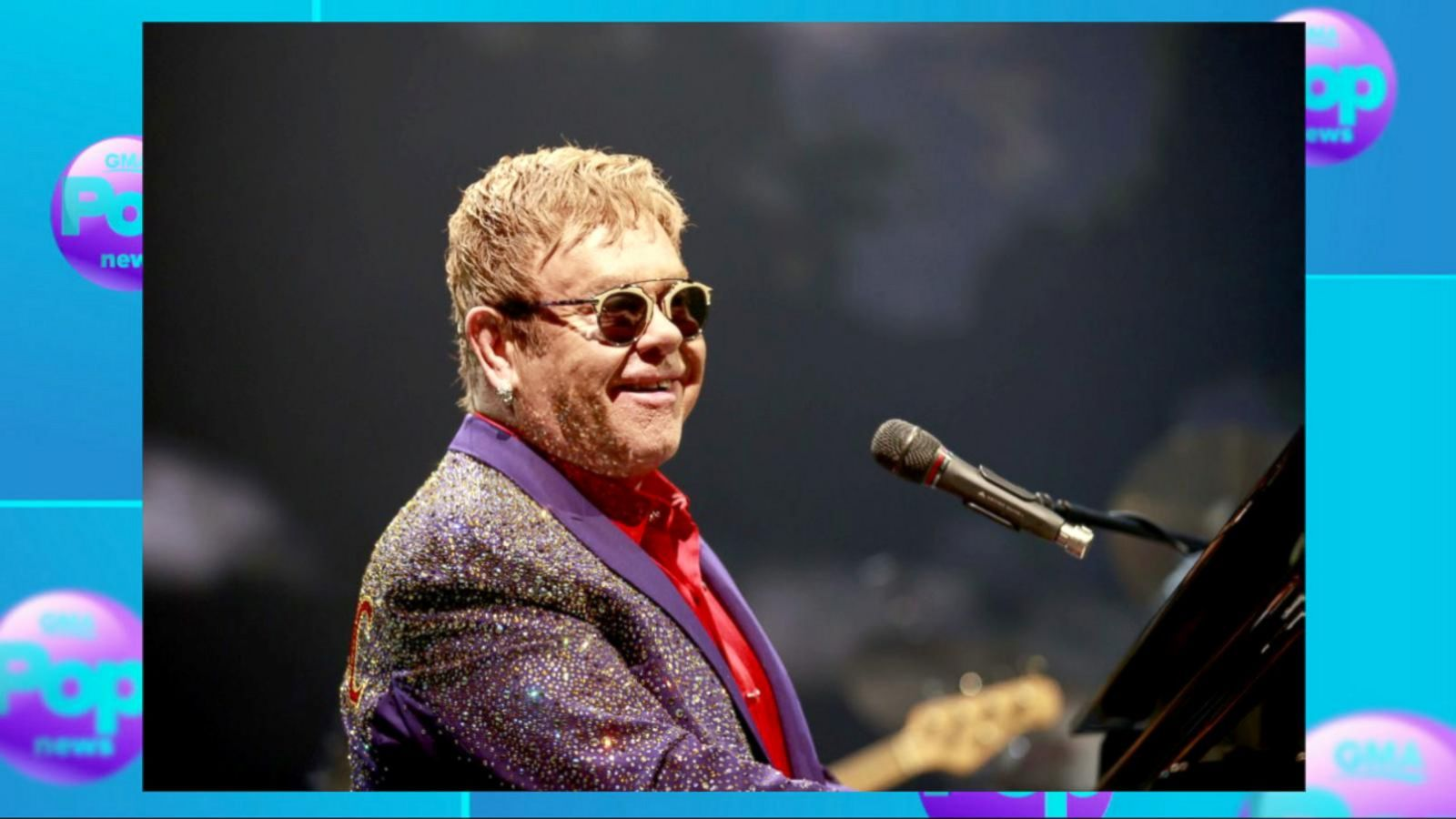 VIDEO: Elton John Dispels Retirement Rumors on Instagram