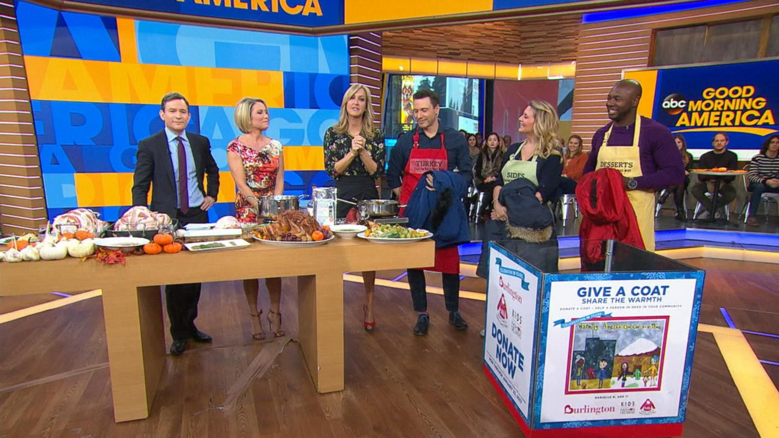 VIDEO: All-Star Celebrity Chefs Donate to Coat Drive