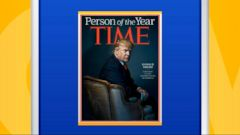 President-elect Donald Trump said today it was a tremendous honor to have been chosen as Time magazines Person of the Year.