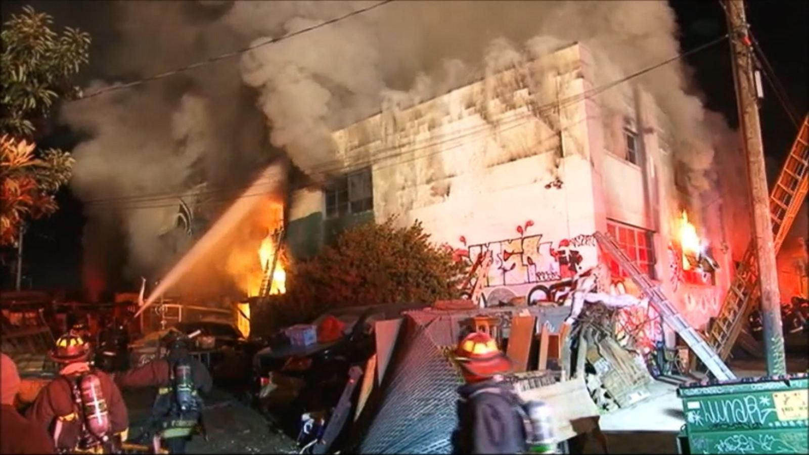 VIDEO: Refrigerator May Have Sparked Oakland Warehouse Fire, Officials Say