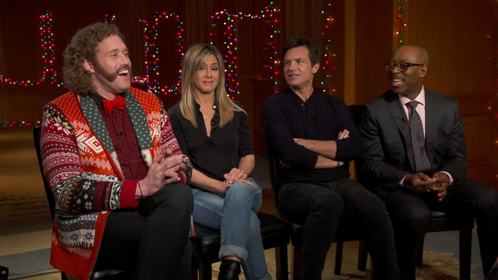 VIDEO: Jennifer Aniston, Jason Bateman, and More Discuss 'Office Christmas Party'