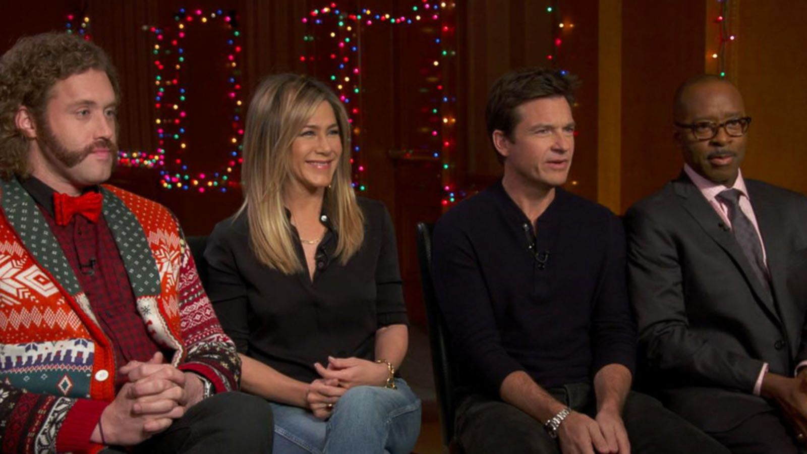 VIDEO: 'GMA' Hot List: Cast of 'Office Christmas Party' Gets Candid
