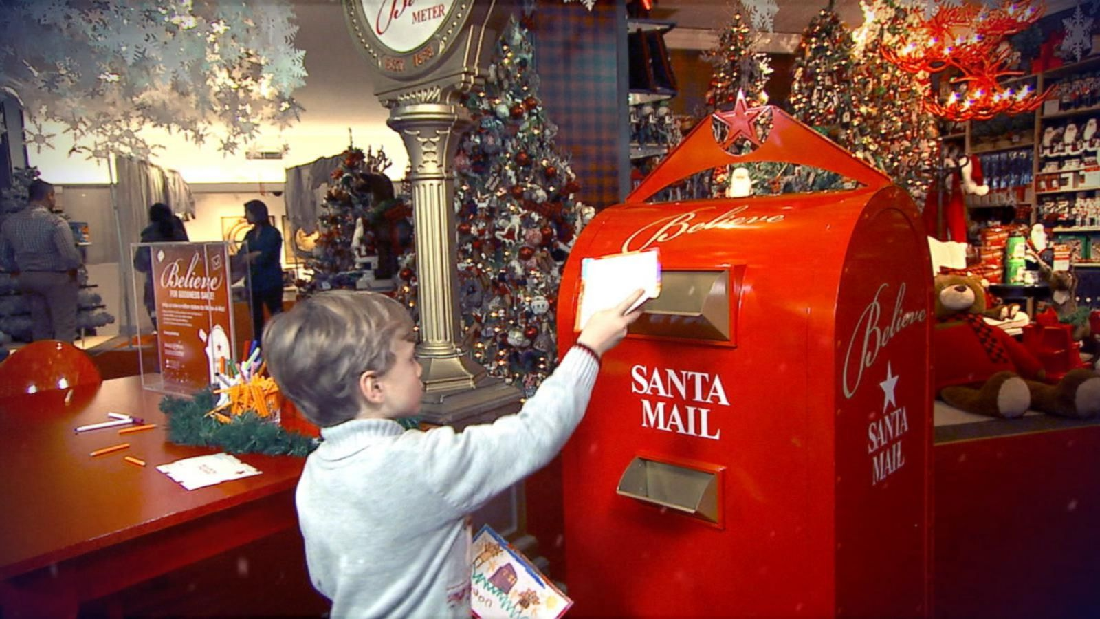 VIDEO: Macy's Santa Project Spreads Belief This Holiday Season