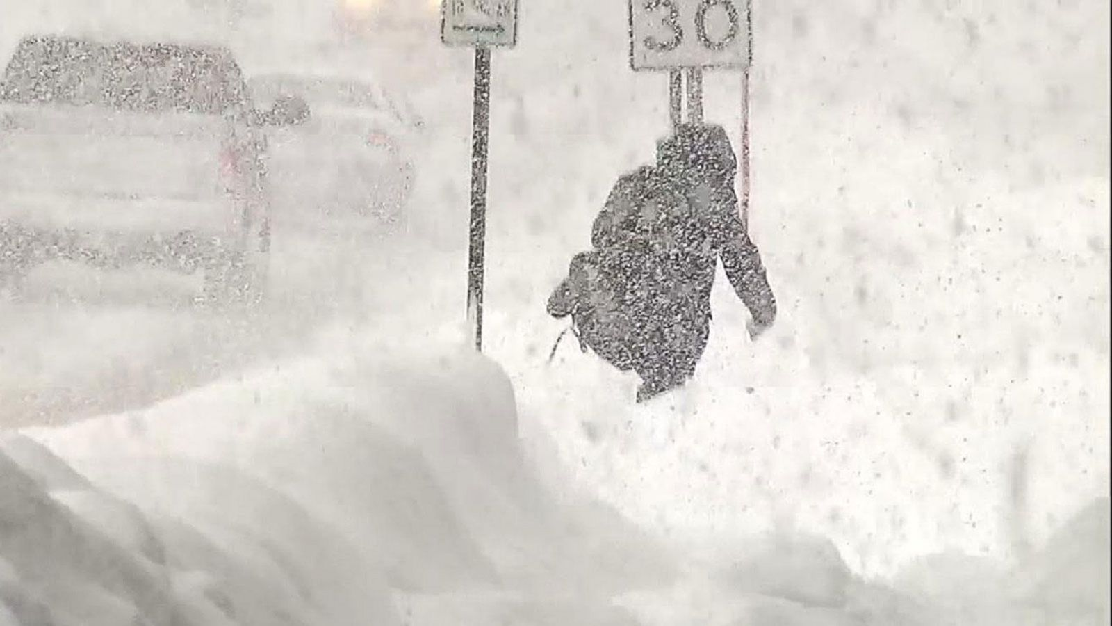 VIDEO: Frigid Cold and Snow Sweep Across Large Swaths of the US