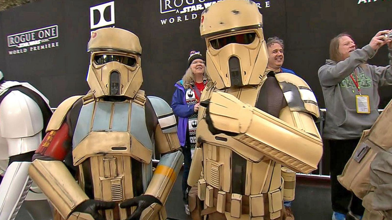 VIDEO: 'Rogue One' Premiere Night Highlights