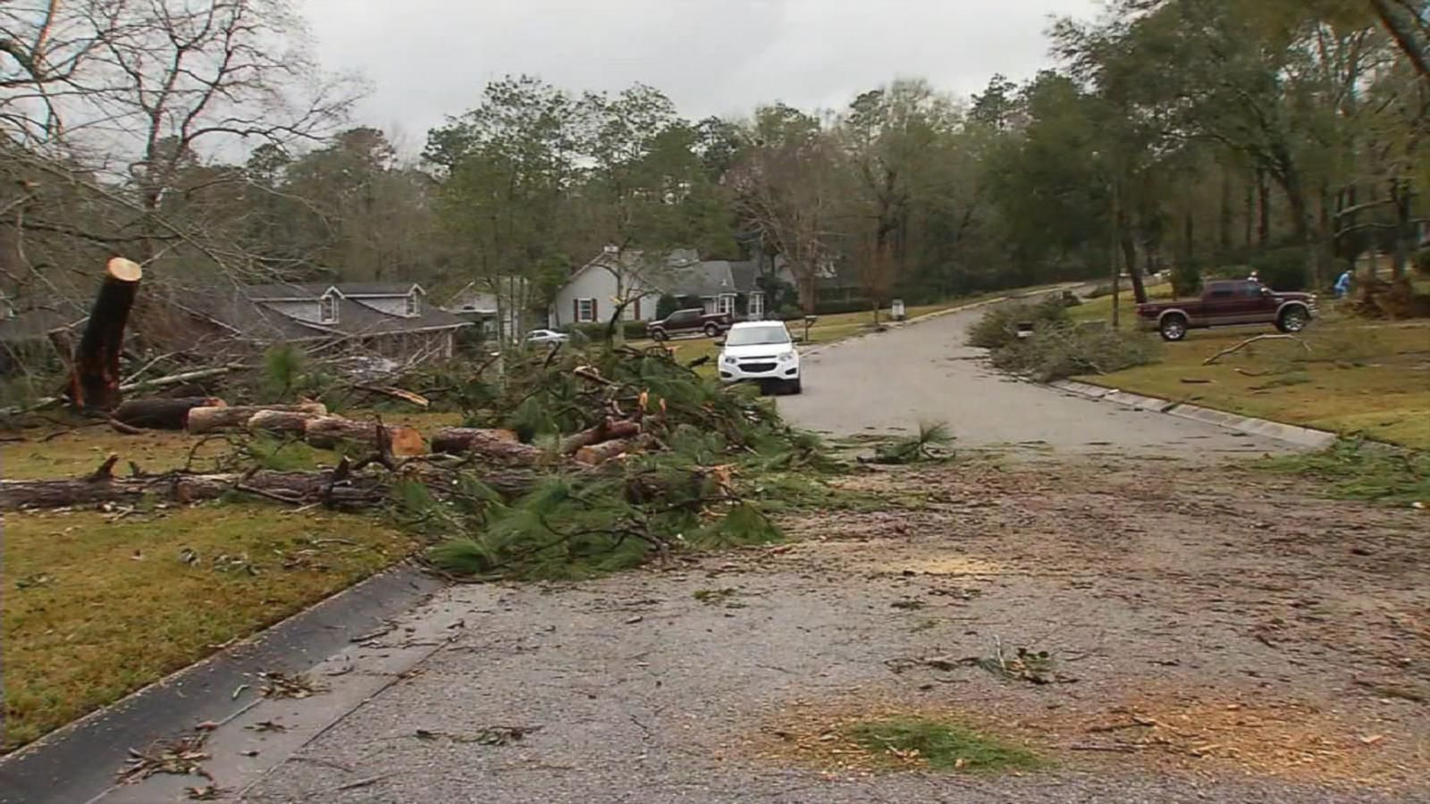 VIDEO: Deadly Storms Tear Through the South