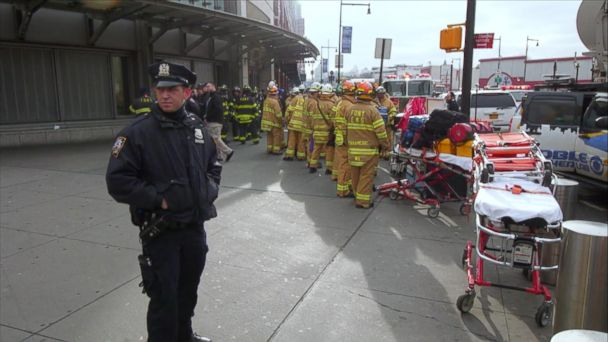 VIDEO: Latest on Brooklyn Train Derailment