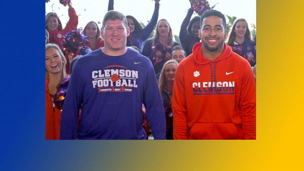 VIDEO: Clemson Players React to National Championship Win