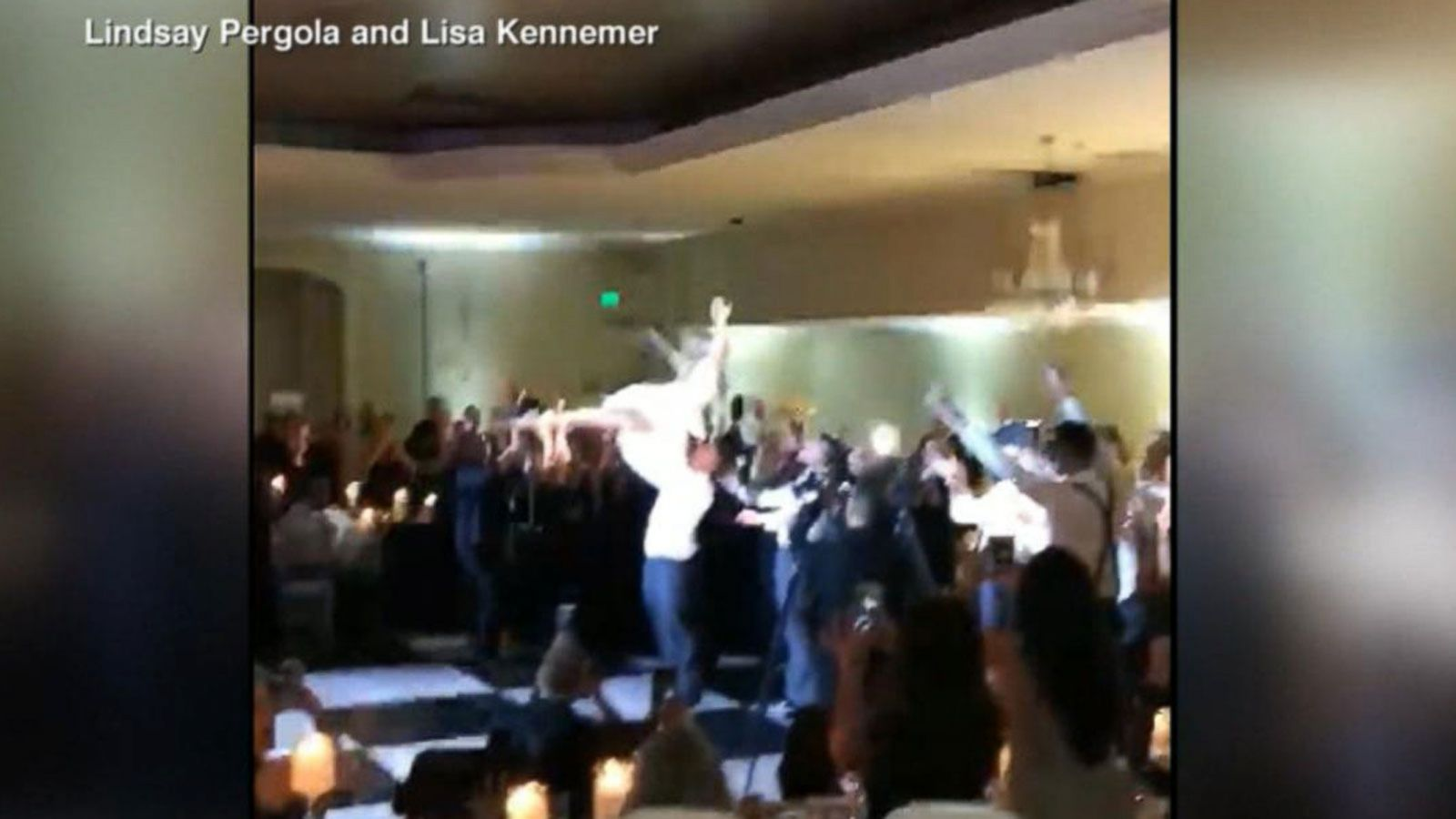 VIDEO: Couple Nails Iconic Dirty Dancing Routine at Wedding