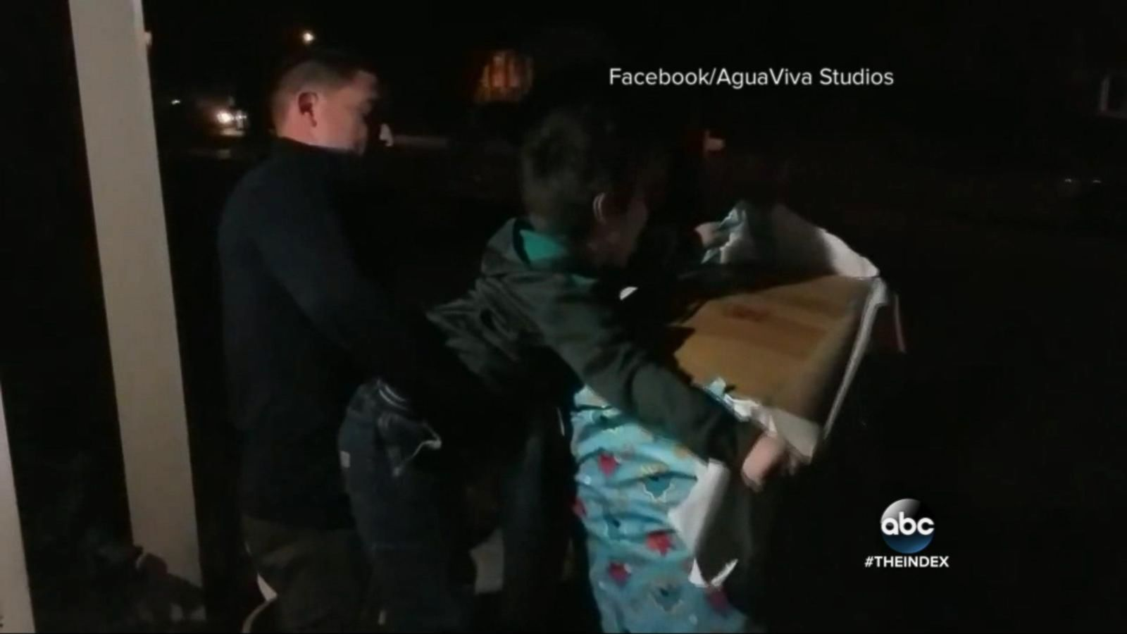 VIDEO: Boy Unwraps Soldier Dad in Wrapped Present for Ultimate Surprise Homecoming