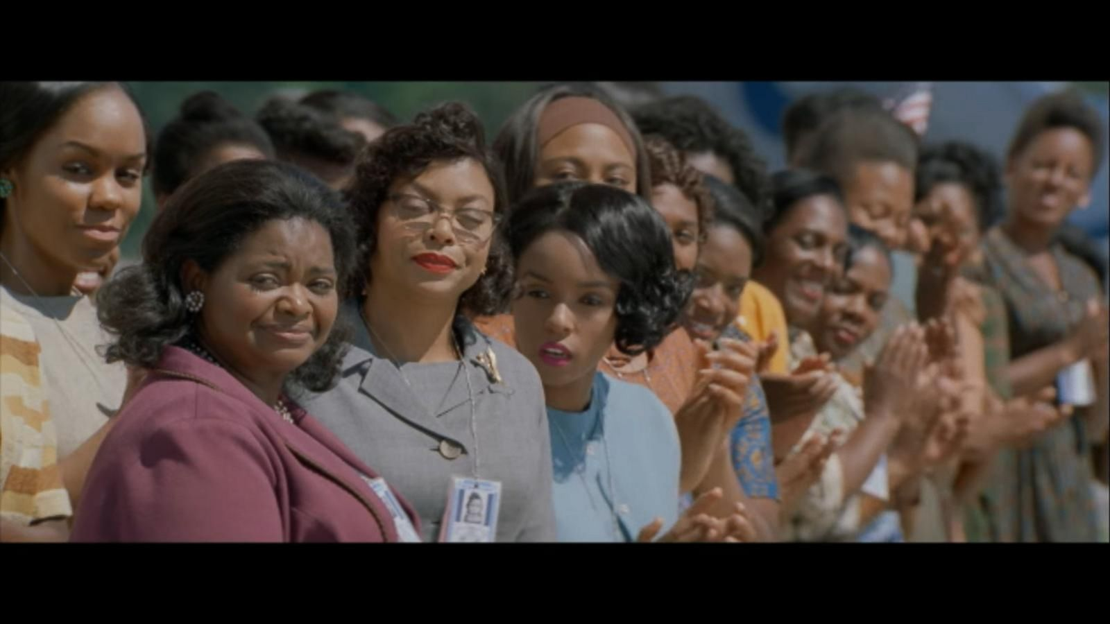 VIDEO: 'Hidden Figures' Soars to Number 1
