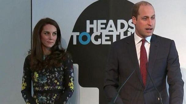 VIDEO: Royals Put Spotlight on Mental Health Issues