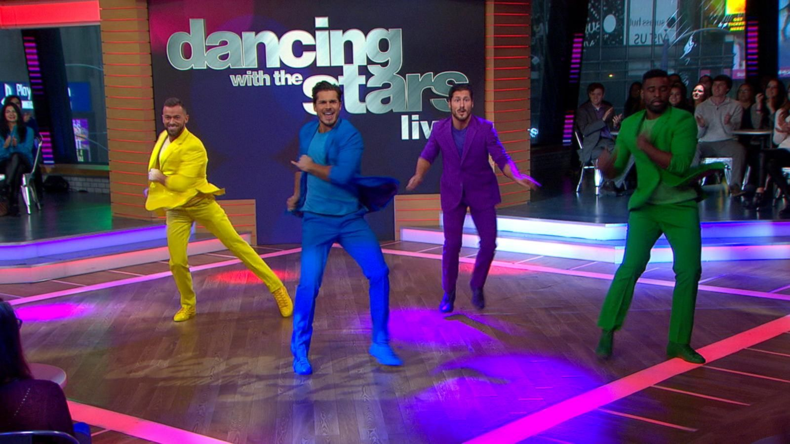 VIDEO: 'Dancing With the Stars' Pros Val Chmerkovskiy and Sharna Burgess Perform Live on 'GMA'