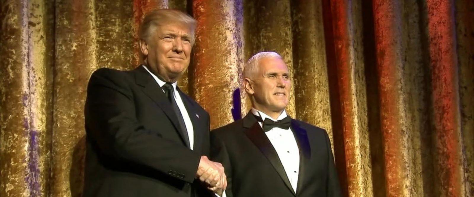 VIDEO: Trump Kicks Off Inauguration Festivities at Gala