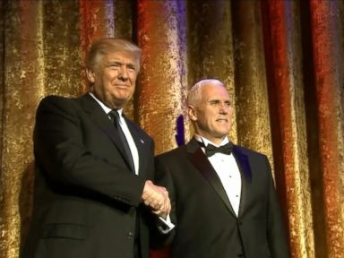 WATCH:  Trump Kicks Off Inauguration Festivities at Gala