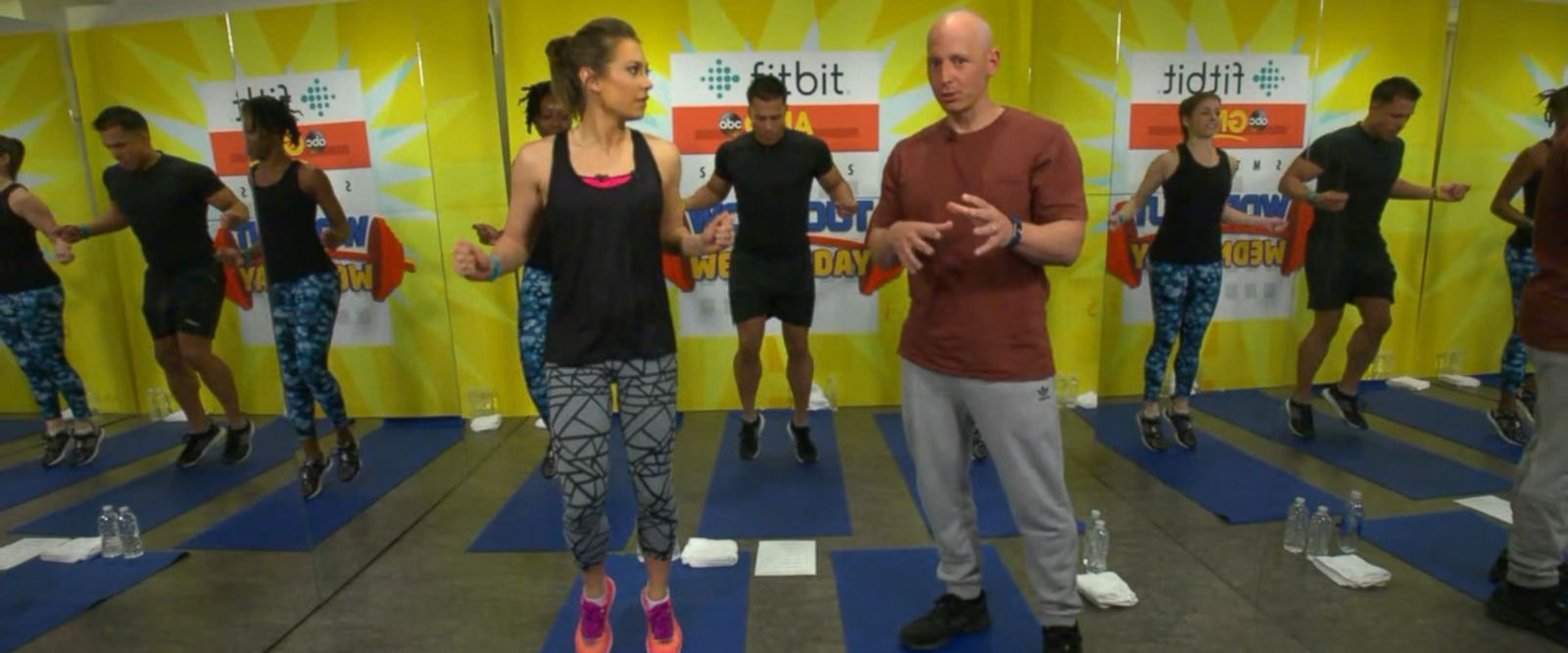 VIDEO: 'GMA' Workout Wednesday With Harley Pasternak