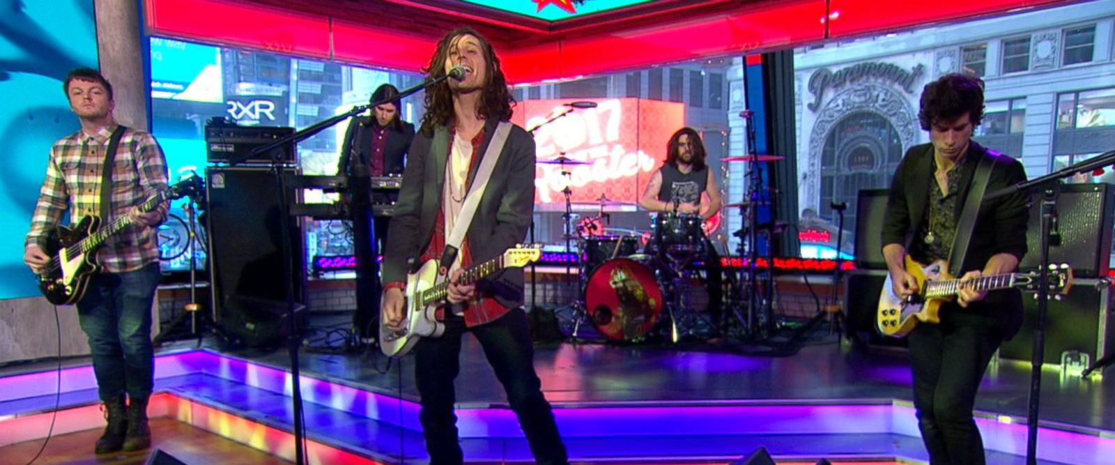 VIDEO: CRX Performs 'Slow Down' Live on 'GMA'