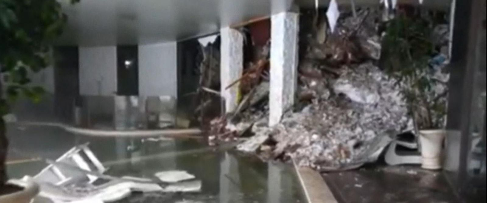 VIDEO: Avalanche Buries Hotel in Italy