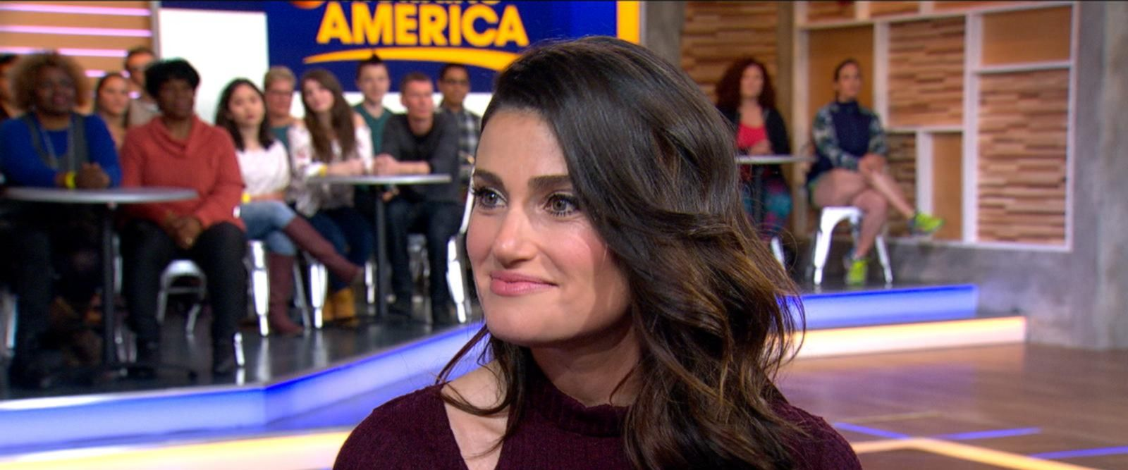 VIDEO: Idina Menzel Dishes on the Upcoming 'Beaches' Remake