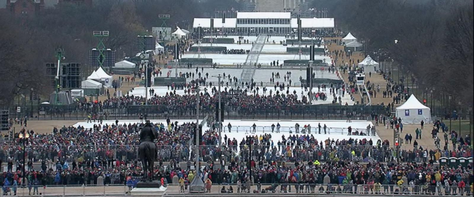 VIDEO: Thousands Gather in DC for 45th Presidential Inauguration