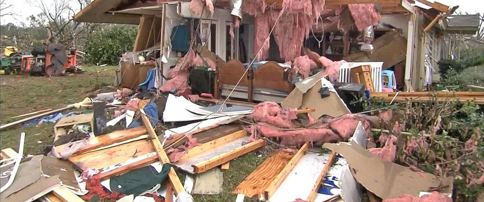 VIDEO: Deadly Tornadoes Slam the South