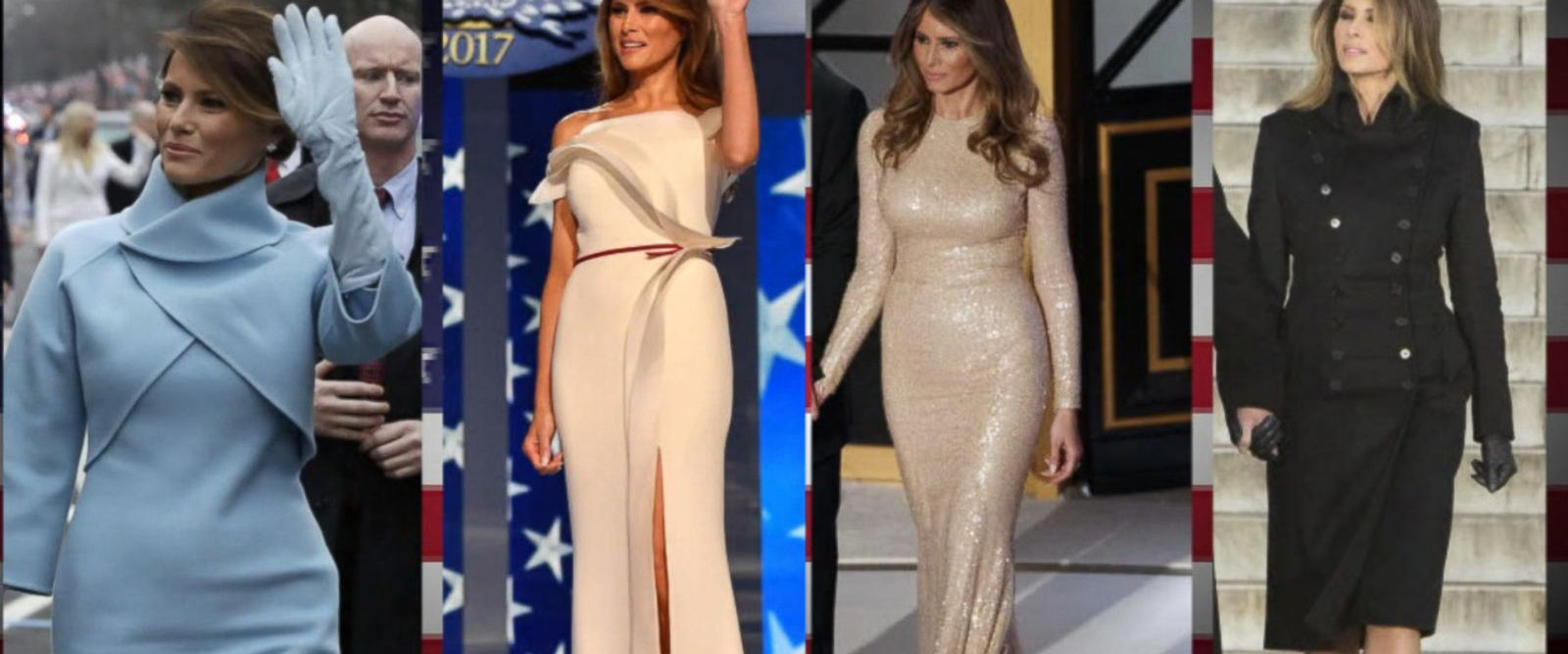VIDEO: Melania Trump Using Fashion to Put 'America First'