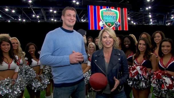 VIDEO: Rob Gronkowski Appears Live on 'GMA' Ahead of the Big Game
