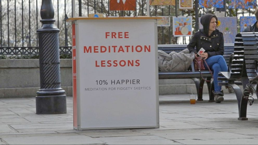 VIDEO: Dan Harris Reports in From His '10% Happier' Meditation Tour