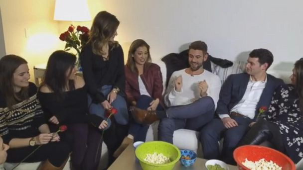 VIDEO:  Nick Viall Surprises Fans at NYC 'Bachelor' Watch Party