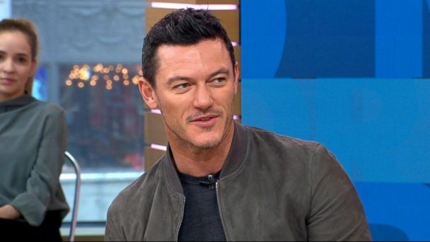 VIDEO: Luke Evans dishes on 'Beauty and the Beast' live on 'GMA'