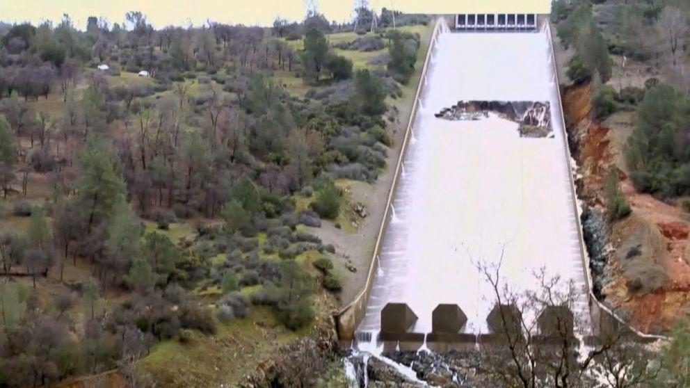Repairs made to failing Northern California dam