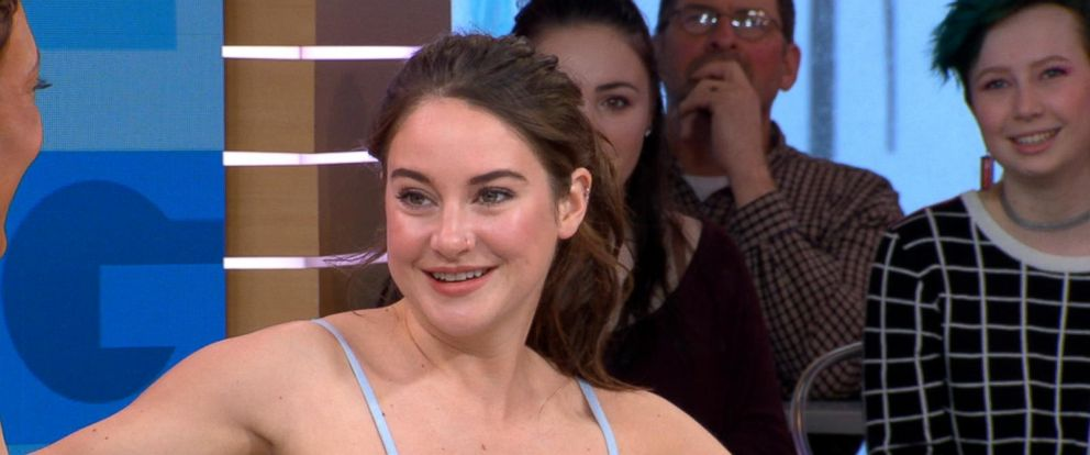 VIDEO: Shailene Woodley dishes on Big Little Lies live on GMA