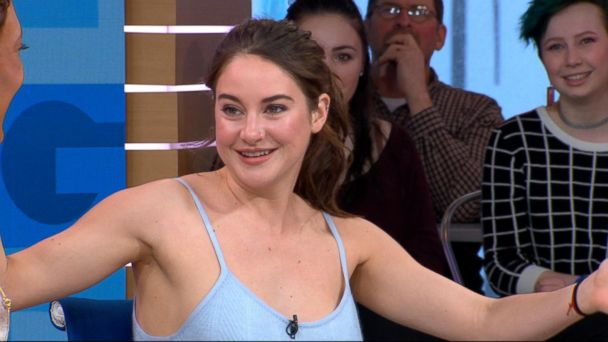 VIDEO: Shailene Woodley dishes on 'Big Little Lies' live on 'GMA'