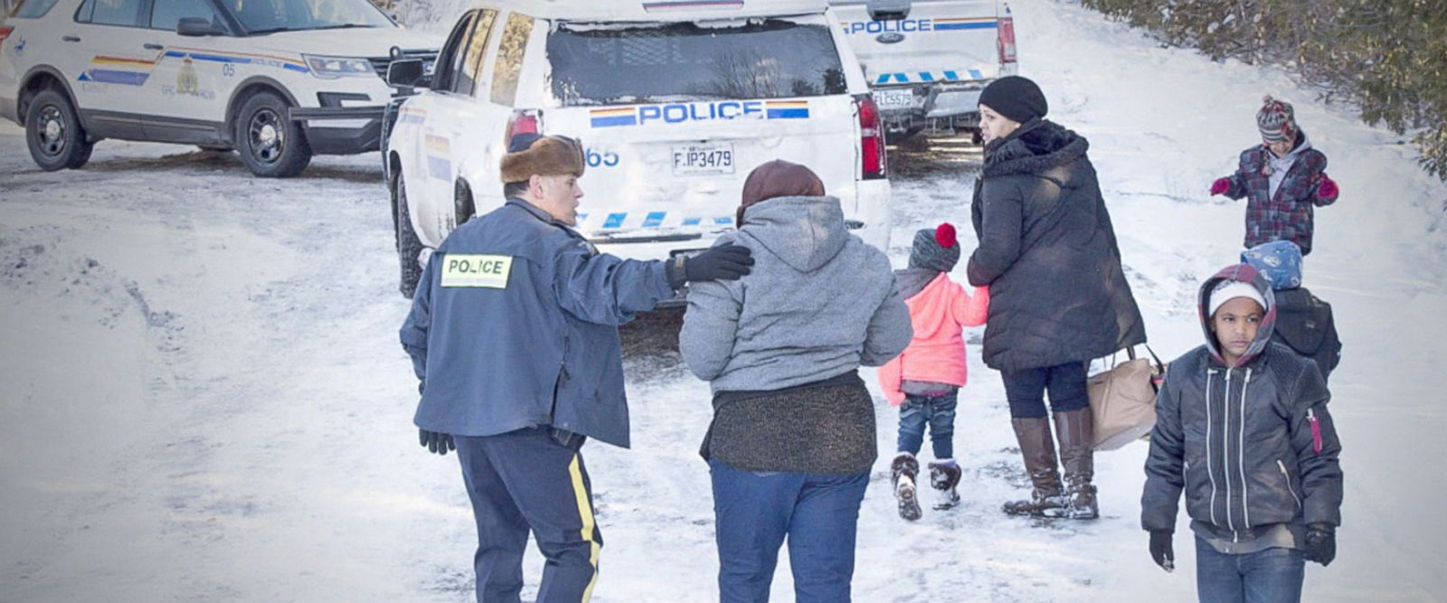 VIDEO: Canadian border has immigrants heading its way