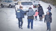 VIDEO: Canadian border has immigrants heading its way