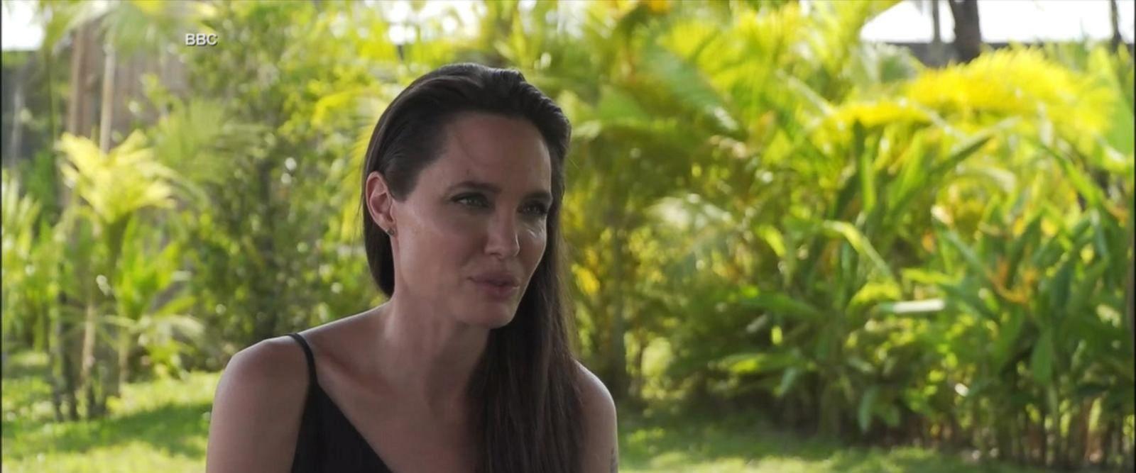 VIDEO: Angelina Jolie breaks her silence on split from Brad Pitt