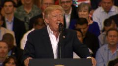 VIDEO: Trump sparks confusion, backlash with comments about Sweden
