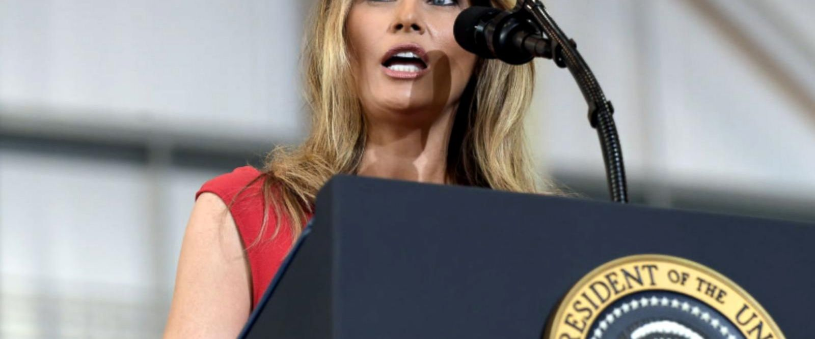 VIDEO: Melania Trump steps into spotlight with first public speech as first lady