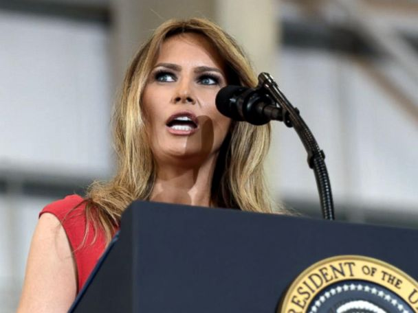 WATCH:  Melania Trump steps into spotlight with first public speech as first lady