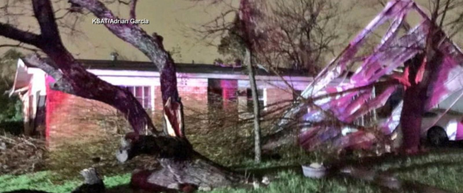 VIDEO: Severe storm slams San Antonio, thousands without power