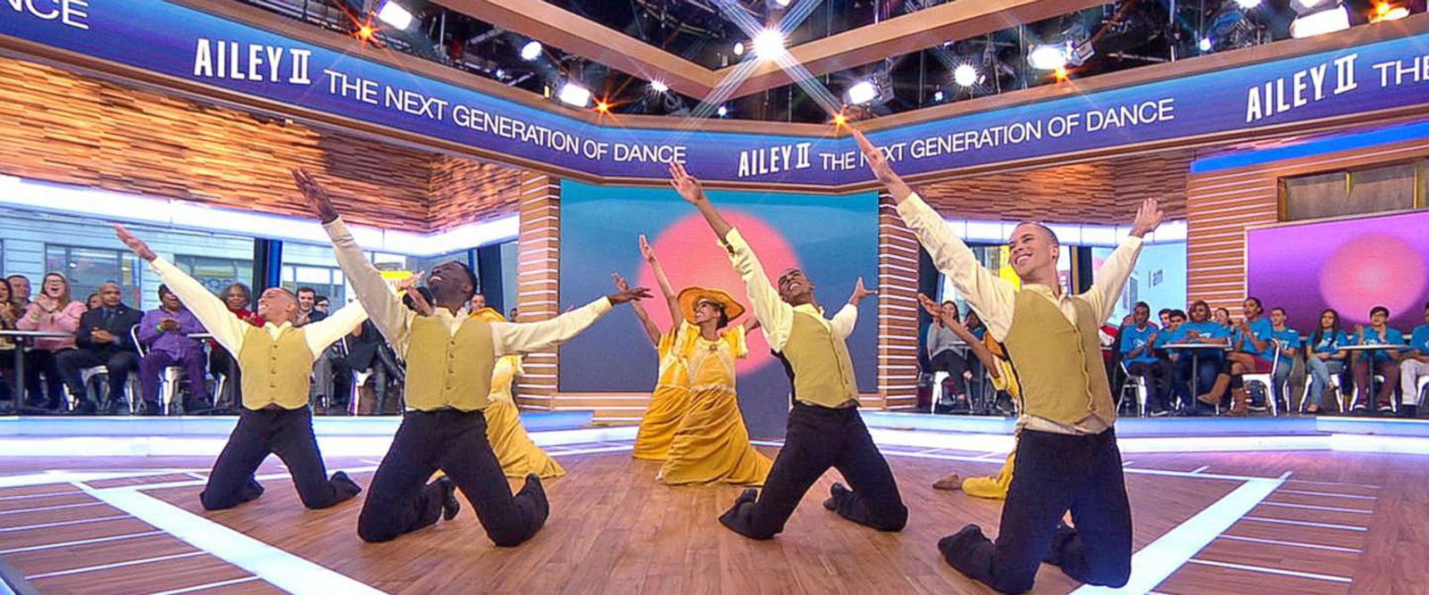 VIDEO: Alvin Ailey II American Dance Theater performers dance live on 'GMA'