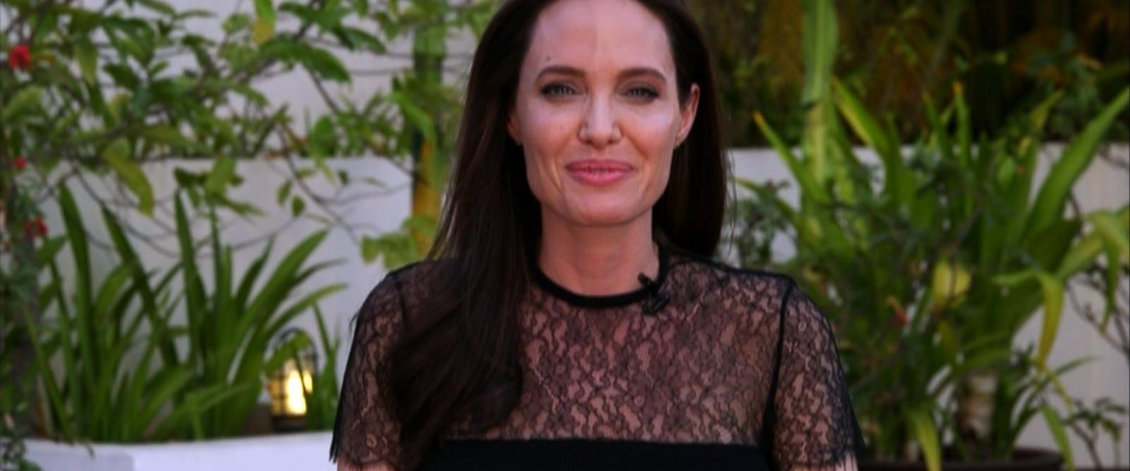 VIDEO: Angelina Jolie speaks out on Brad Pitt, new film