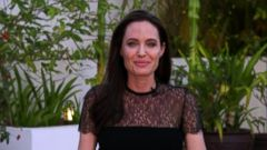 VIDEO: Angelina Jolie speaks out on Brad Pitt, new film