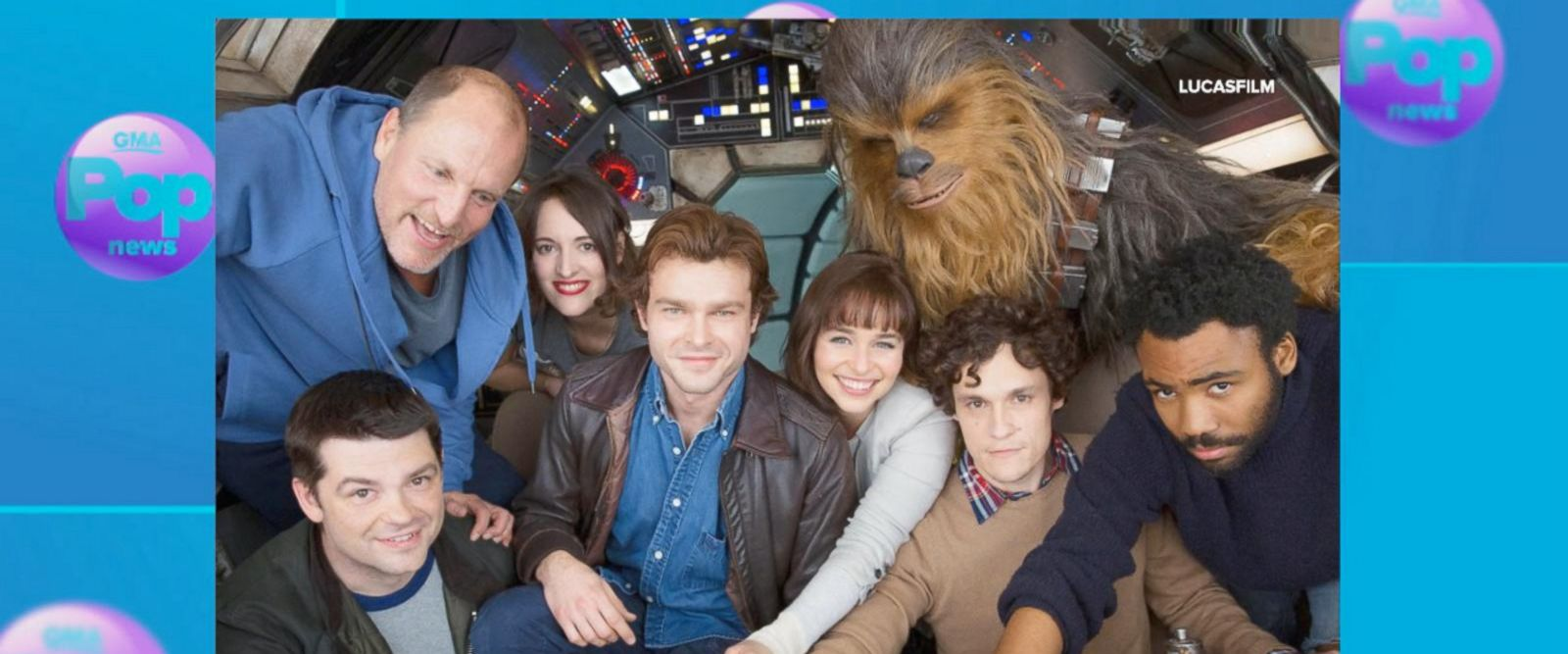 VIDEO: First Look at the new Han Solo movie