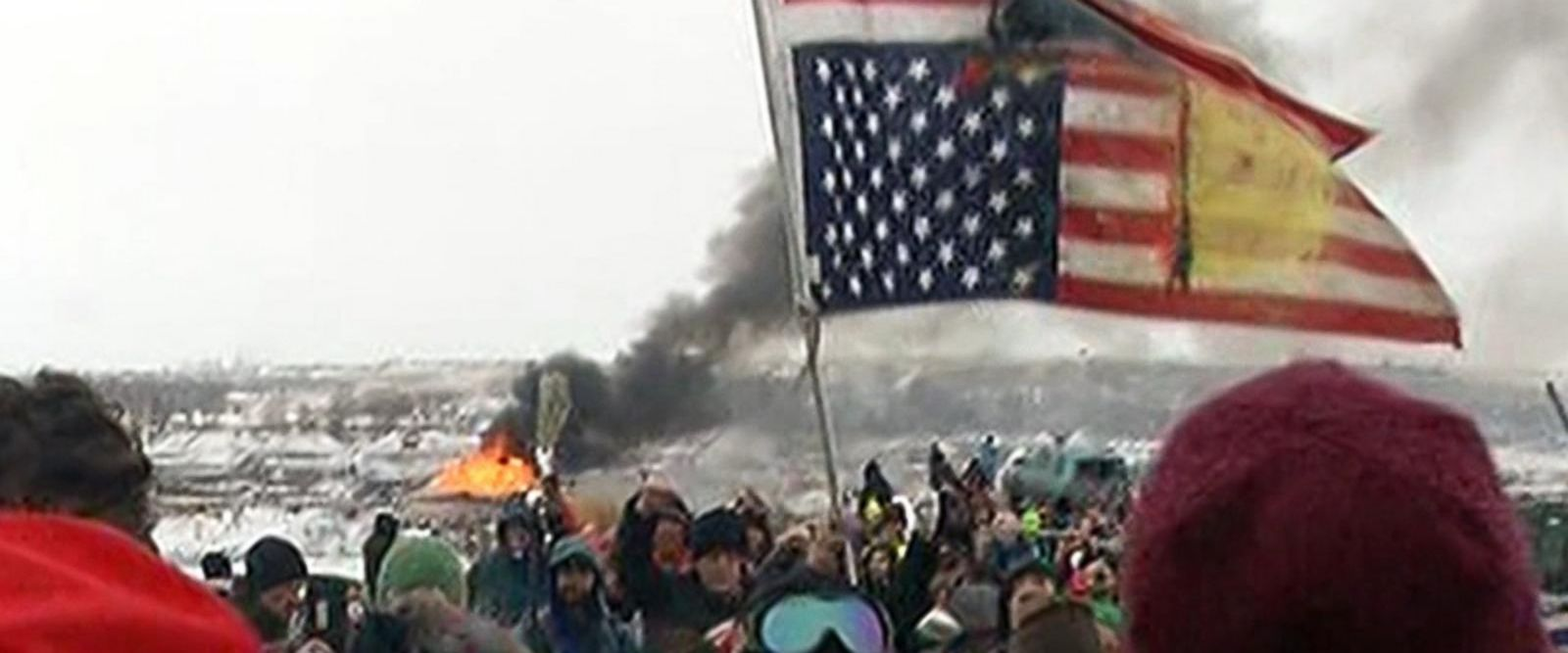 VIDEO: Dakota Access Pipeline protest camps ordered to vacate