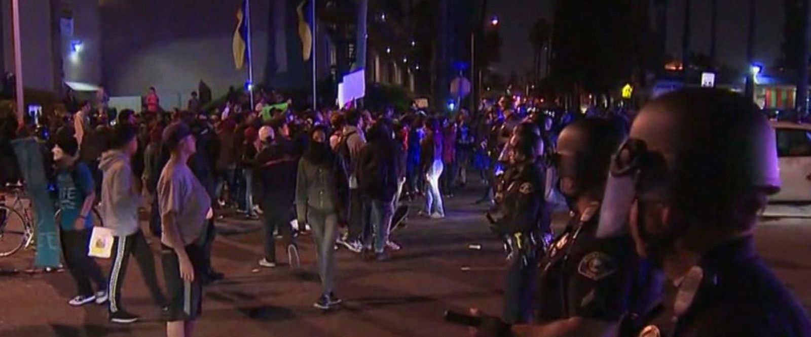 VIDEO: Off-duty LAPD officer's clash with teens sparks protests